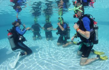 PADI Scuba Diving Curacao