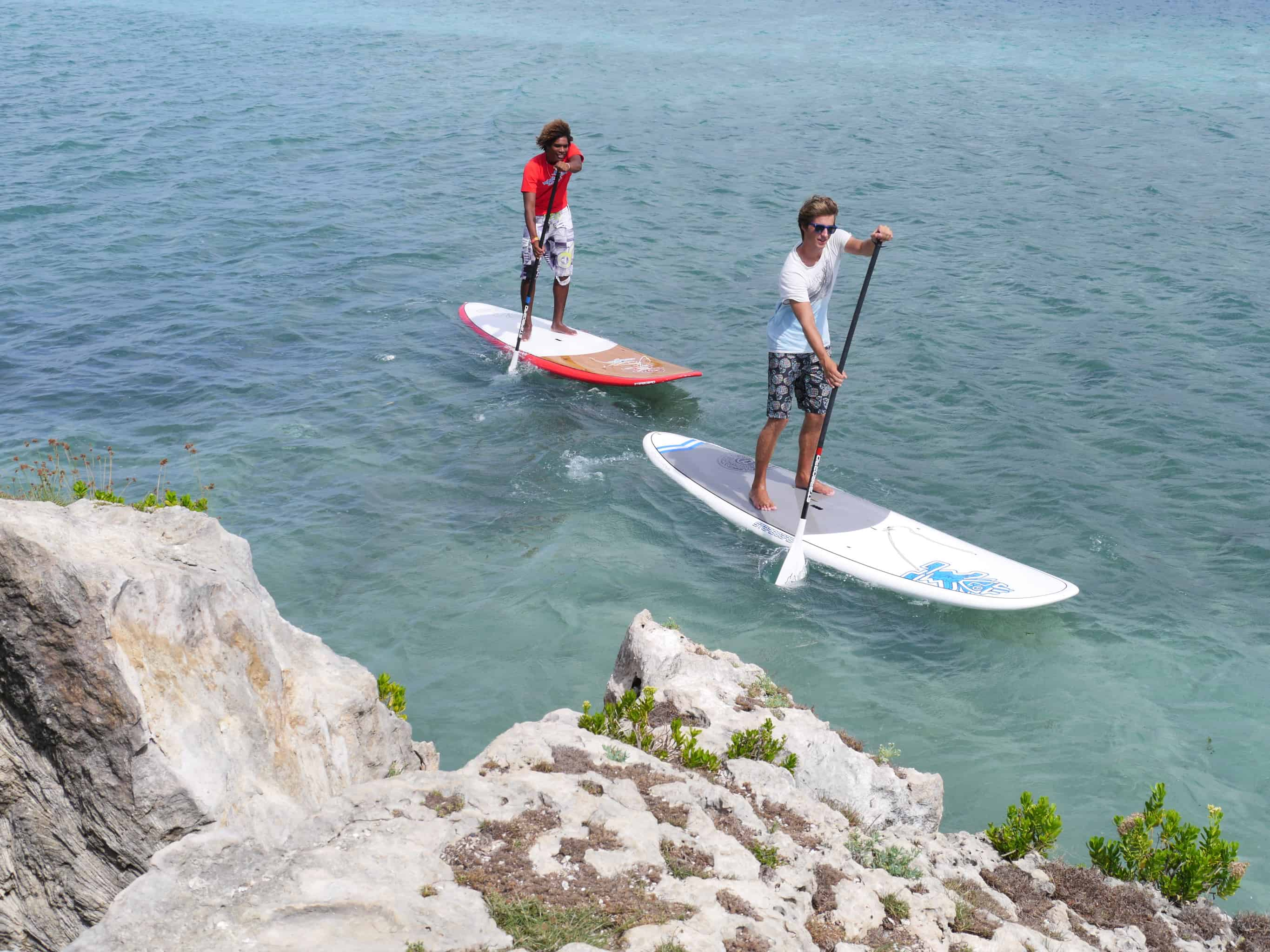 Spanish Water Curacao Paddle Boarding 2
