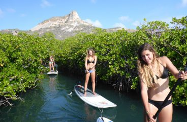 Spanish Water Curacao Paddle Boarding 1