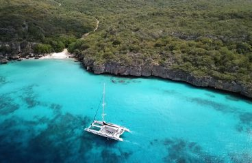 Catamaran BlueFinn West Coast Snorkeling Sailing Curacao
