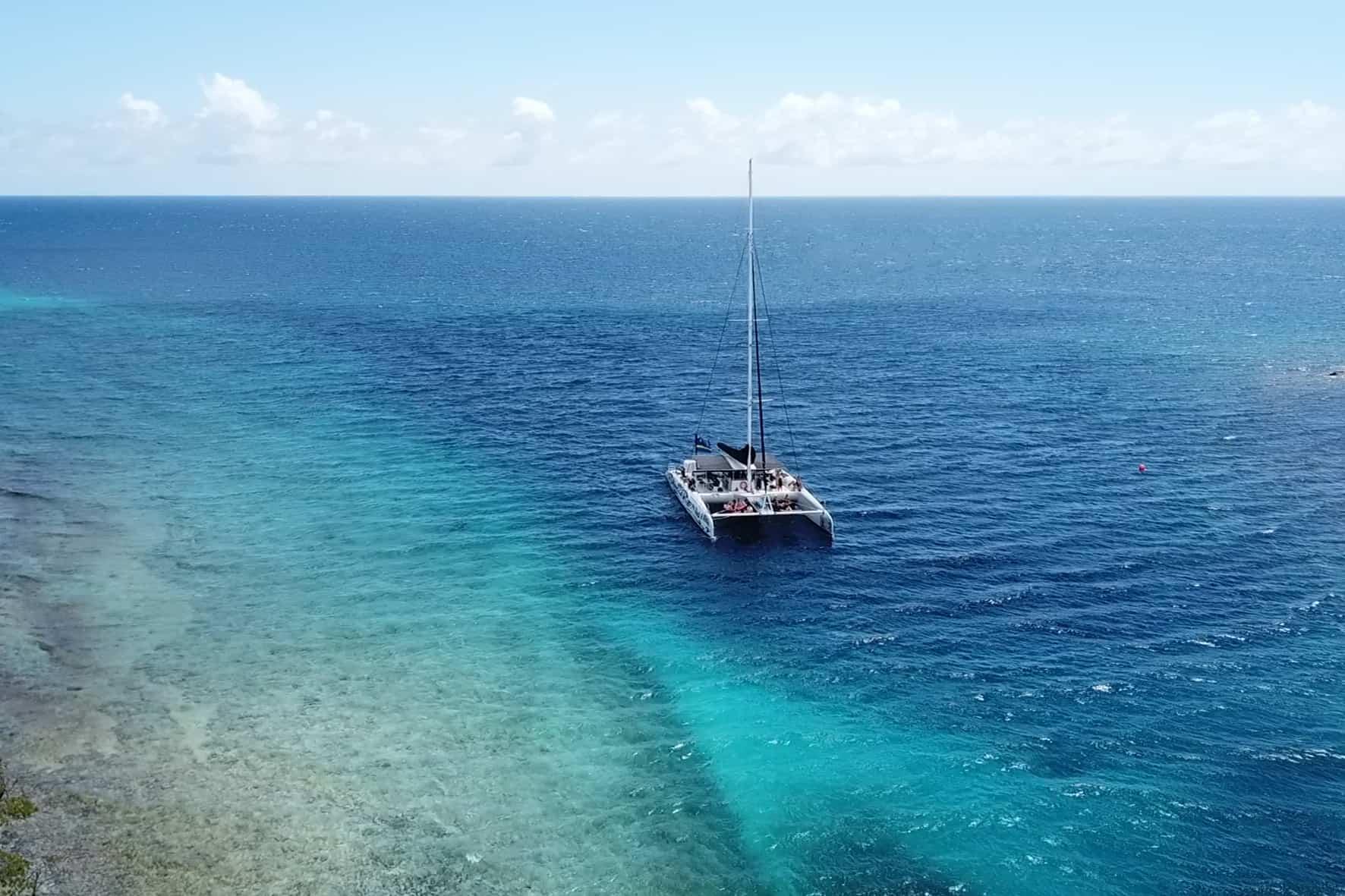 Catamaran BlueFinn West Coast Snorkeling Sailing Curacao 2