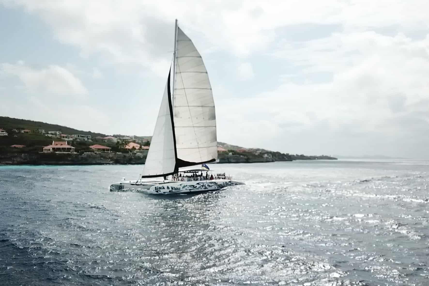 Catamaran BlueFinn West Coast Snorkeling Sailing Curacao 3