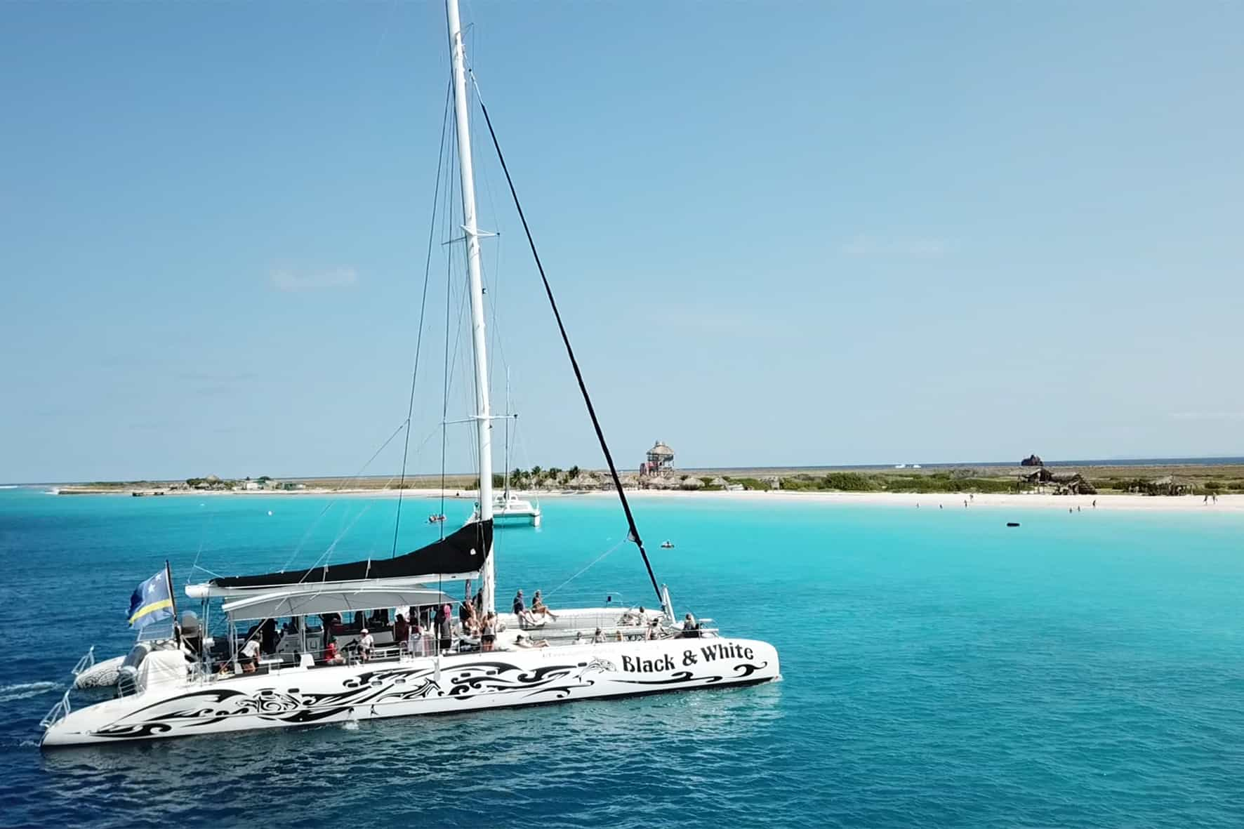 Catamaran BlueFinn Klein Curacao