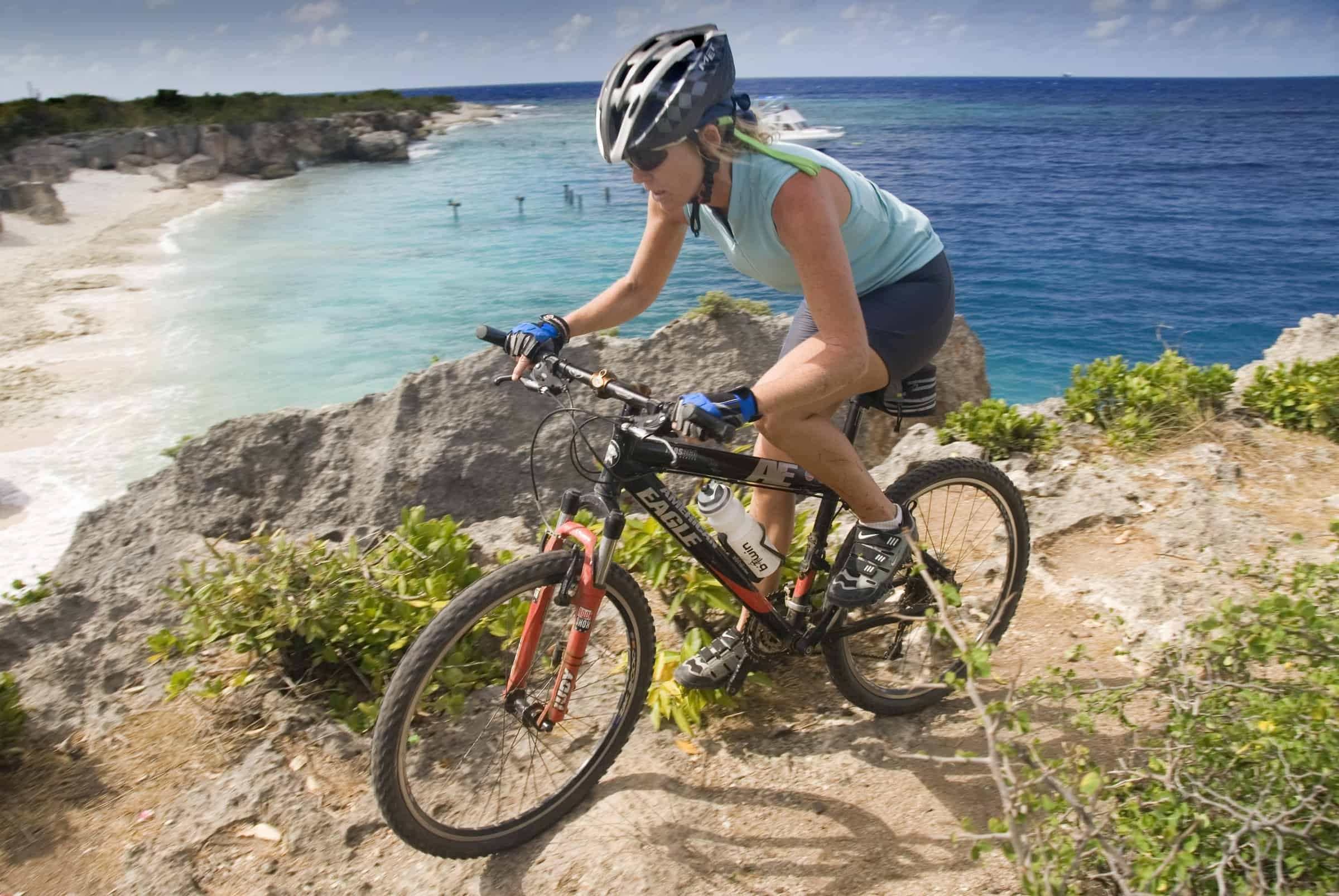 Mountain Bike Curacao-on the Caribbean island of Curacao, Netherlands Antilles