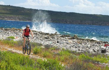 Mountain Bike Curacao 4- on the Caribbean island of Curacao, Netherlands Antilles