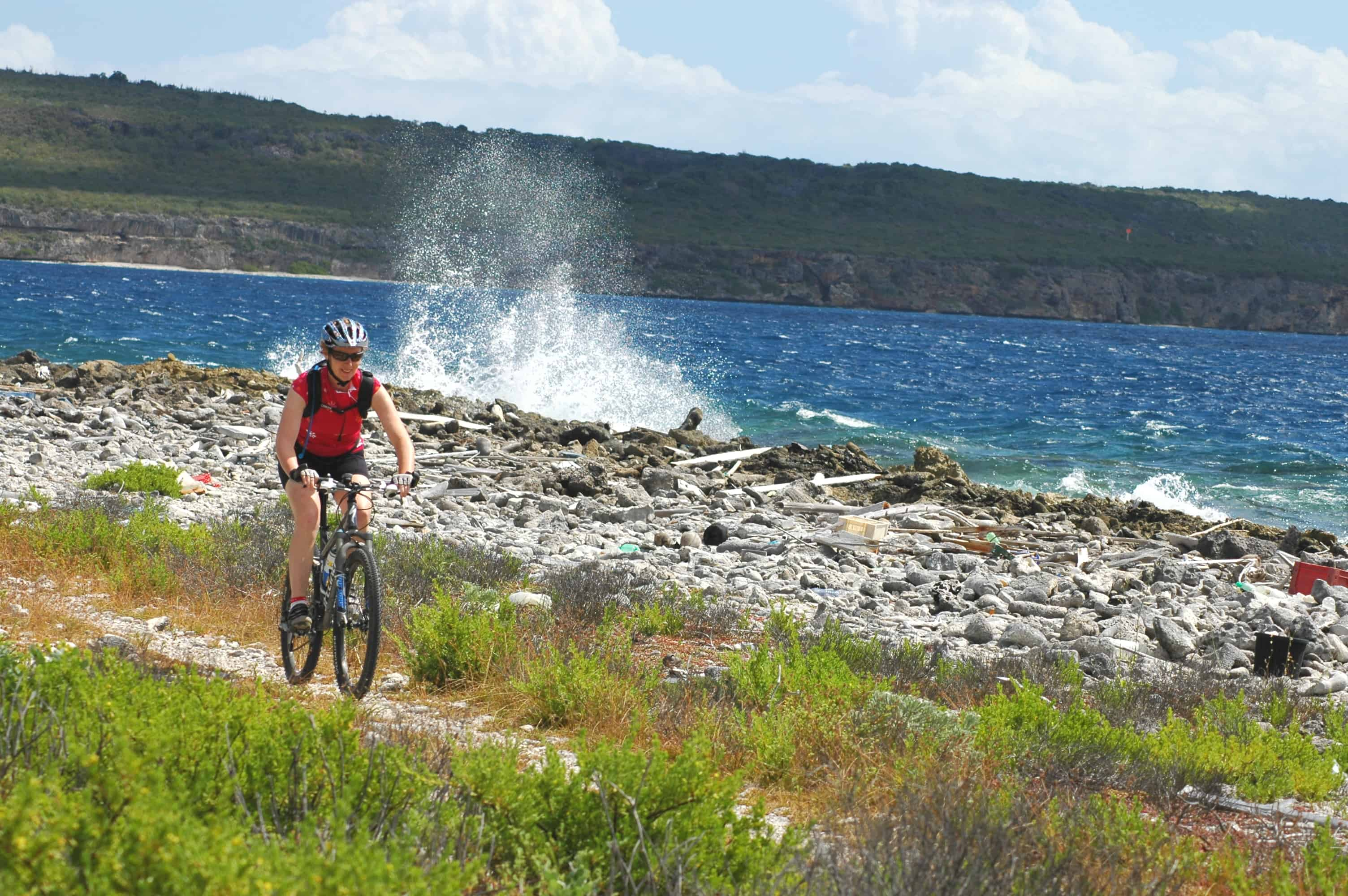 Mountain Bike Curacao 4- on the Caribbean island of Curacao, Netherlands Antilles