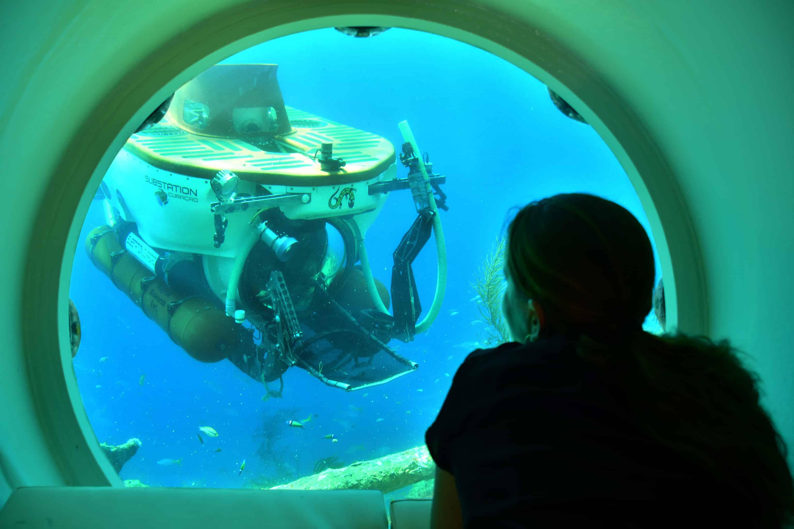 Curaçao Sea Aquarium Ocean Lens CuraSub