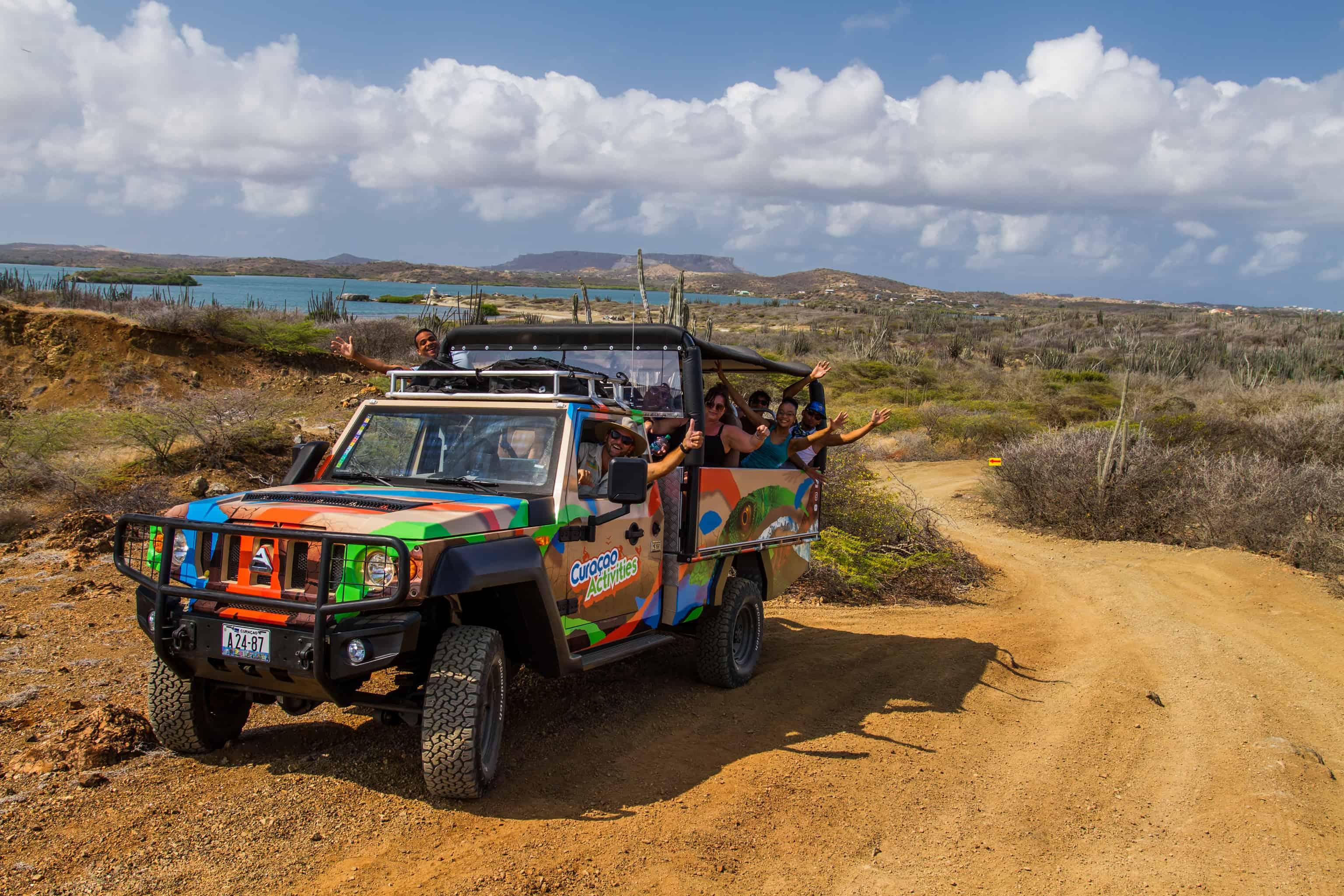 Jeep Safari Curacao East Tour 1
