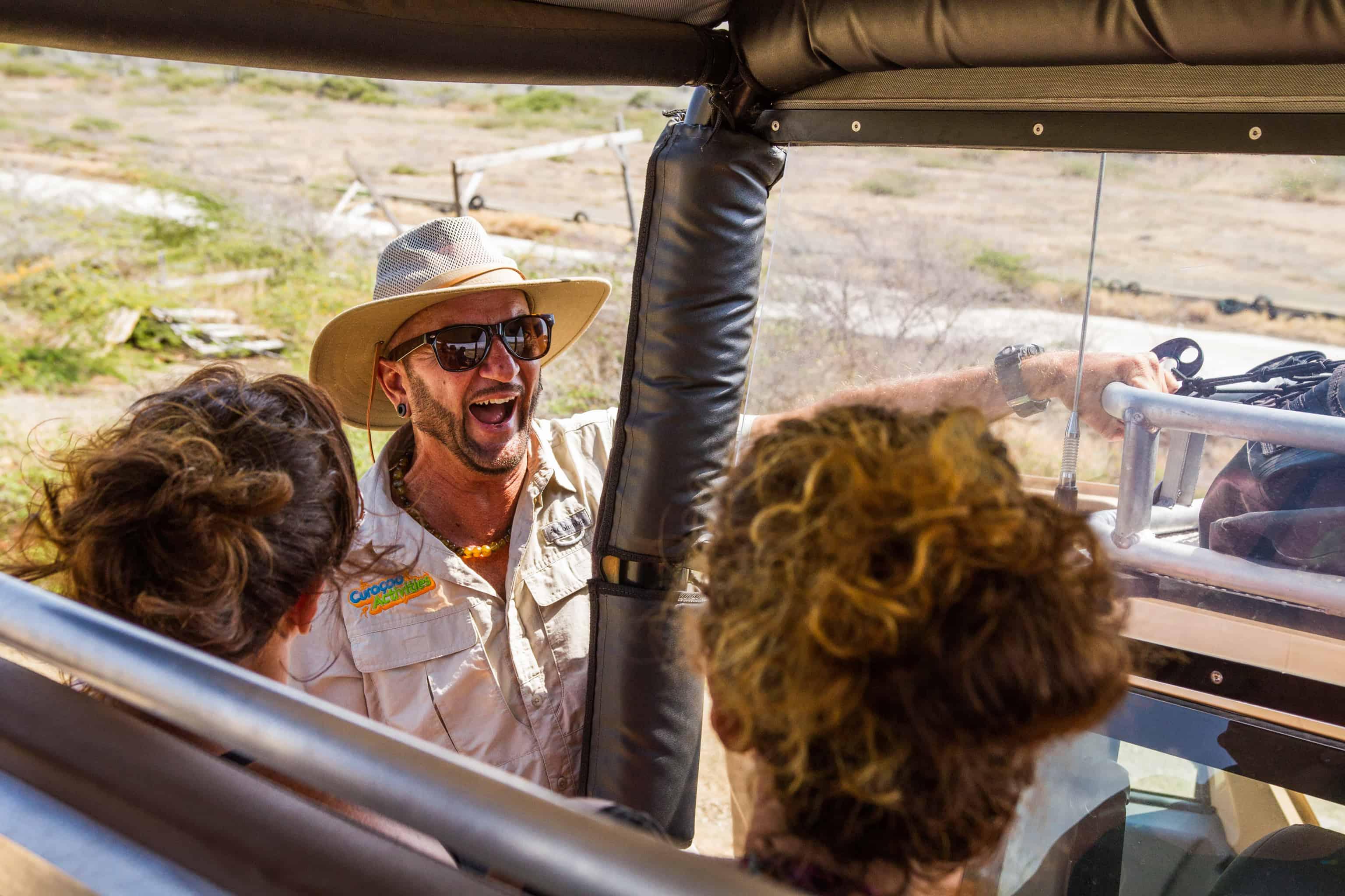 Jeep Safari Curacao East Tour - Howard