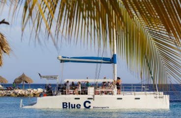 Catamaran Blue C Sailing Curacao 1