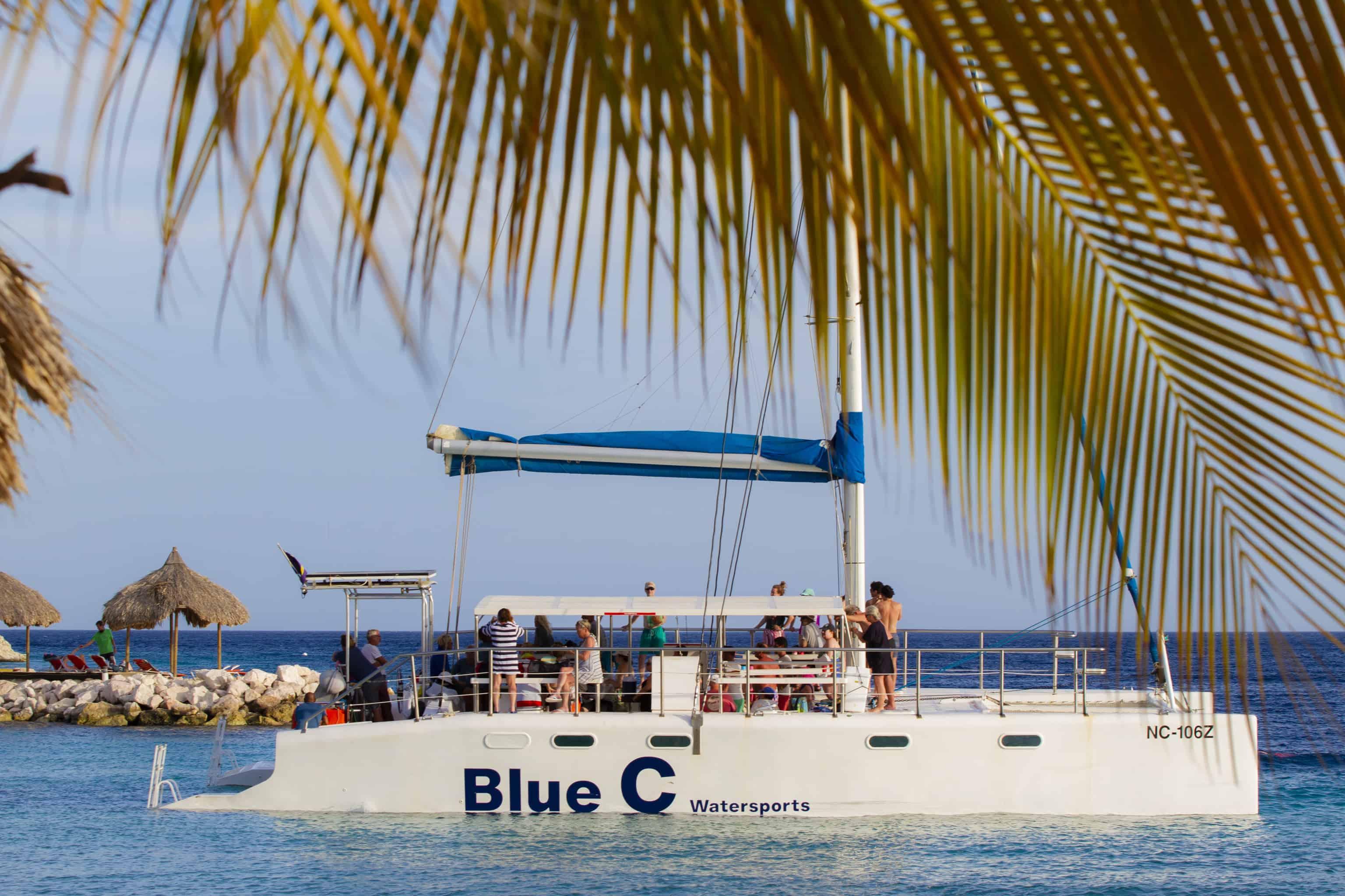 Catamaran Blue C Sailing Curacao 1