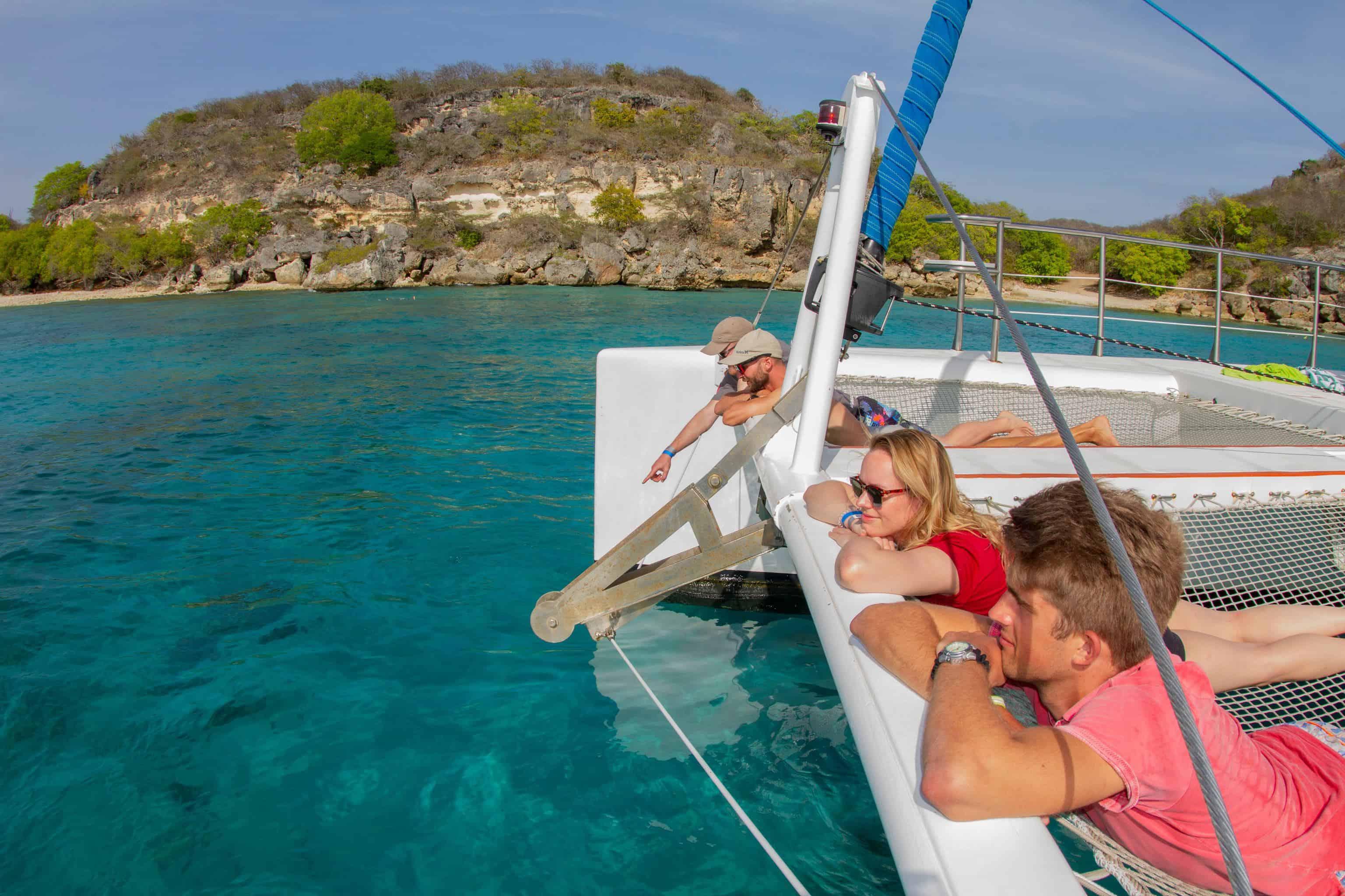 Catamaran Blue C Westpunt Sailing Curacao 3