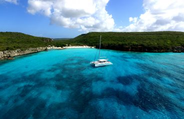 Catamaran Blue C Westpunt Sailing Curacao