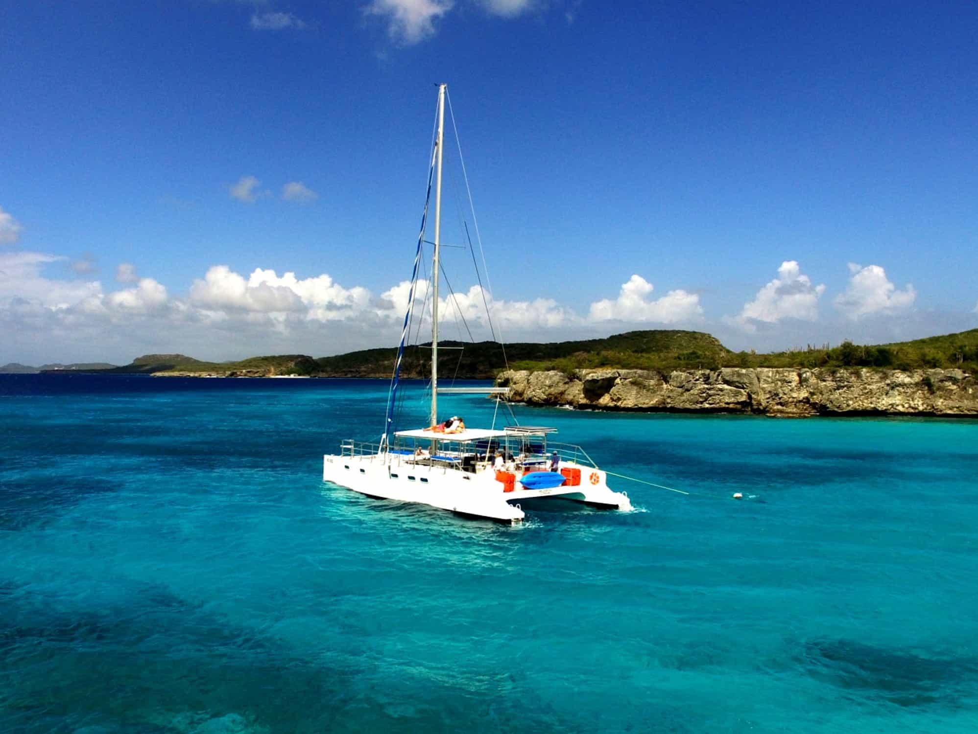 Catamaran Blue C Westpunt Sailing Curacao 4
