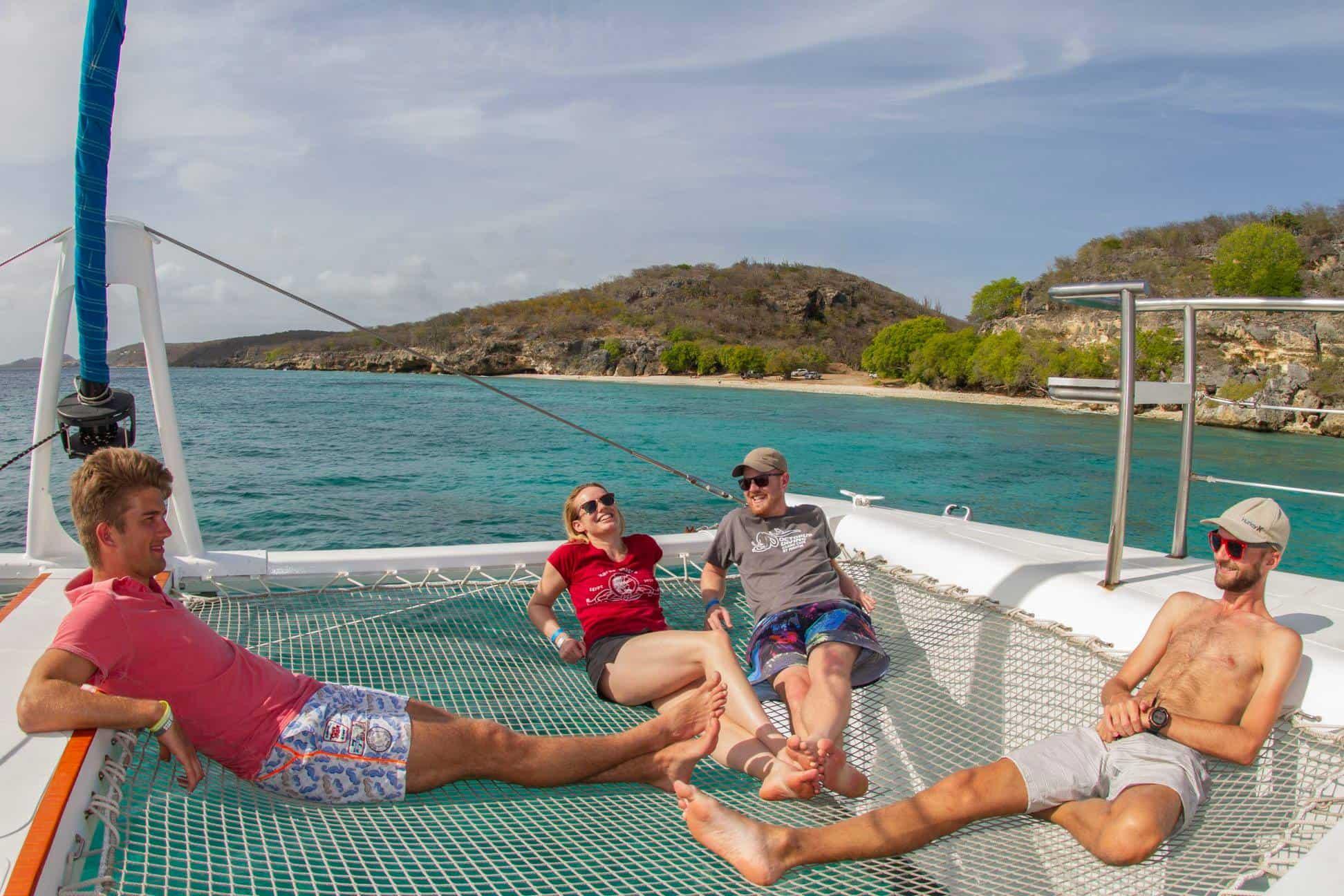 Catamaran Blue C Westpunt Sailing Curacao 6