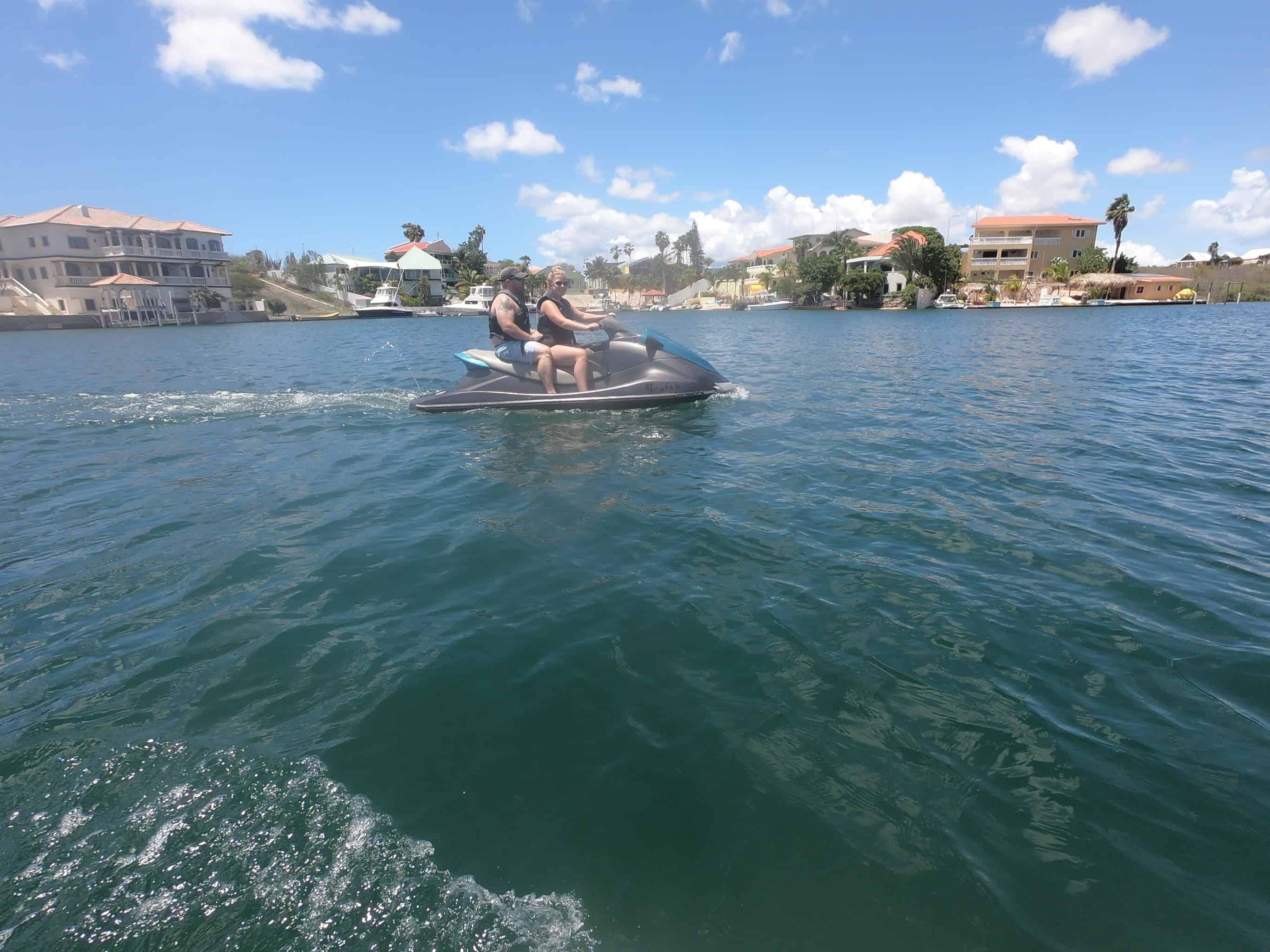 Jet Ski Curacao- Spanish Water 1
