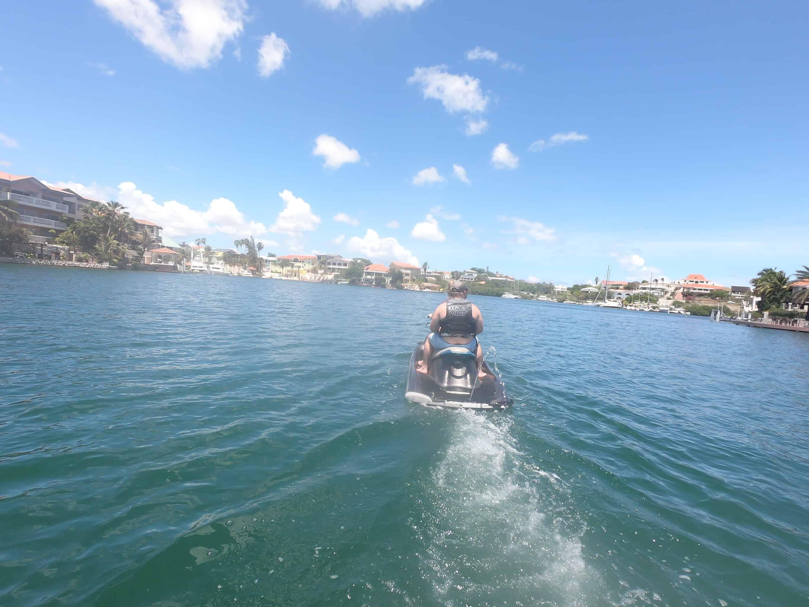 Jet Ski Curacao- Spanish Water 2