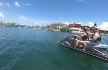 Jet Ski Curacao- Spanish Water and Tugboat 1