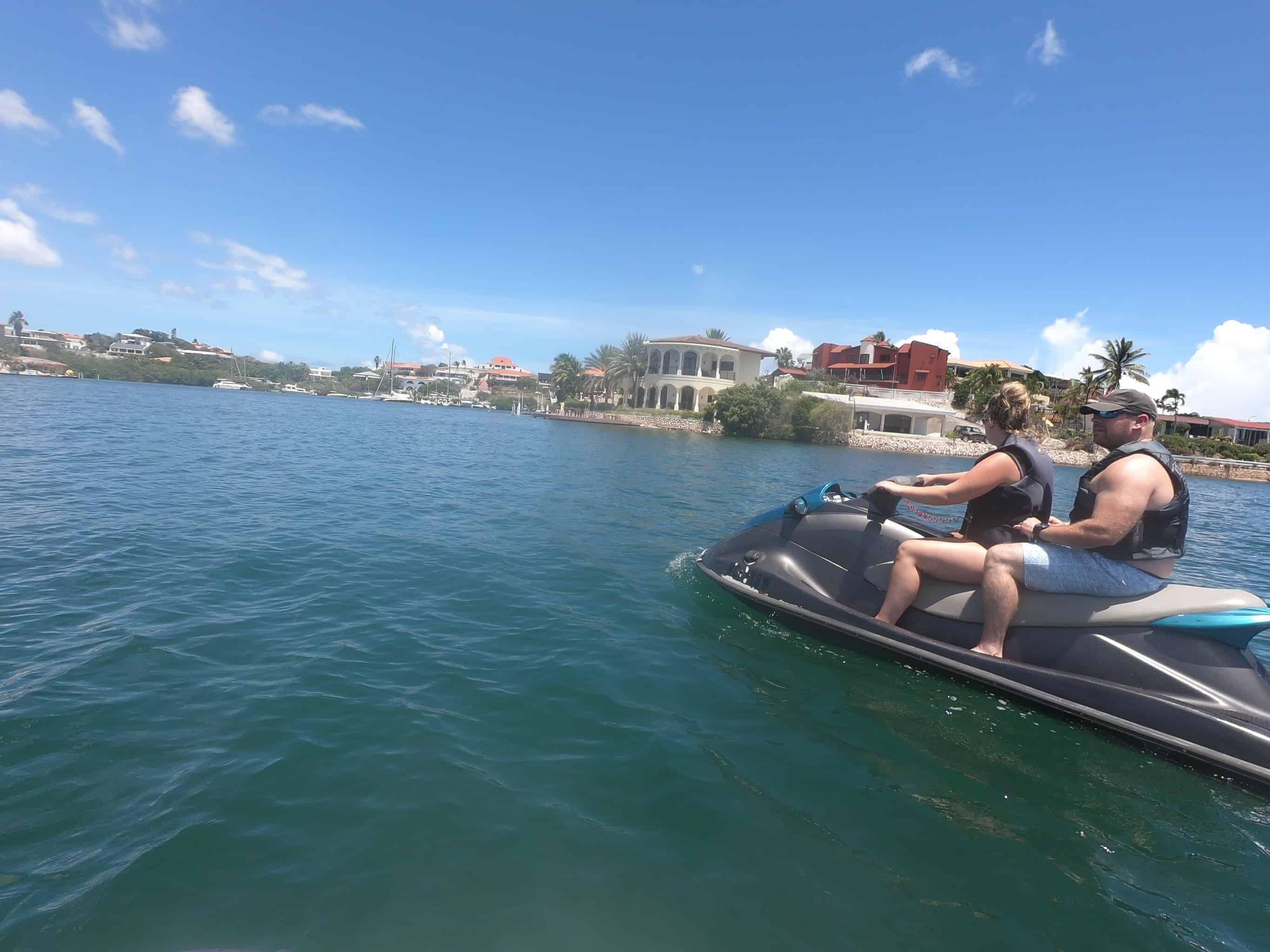 Jet Ski Curacao- Spanish Water and Tugboat 1