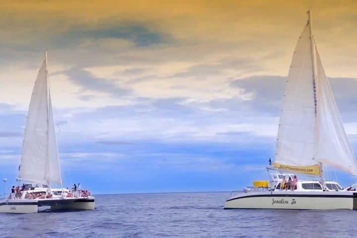Sunset Catamaran Tour Curacao 1