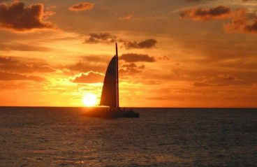 Sunset Catamaran Tour Curacao 3