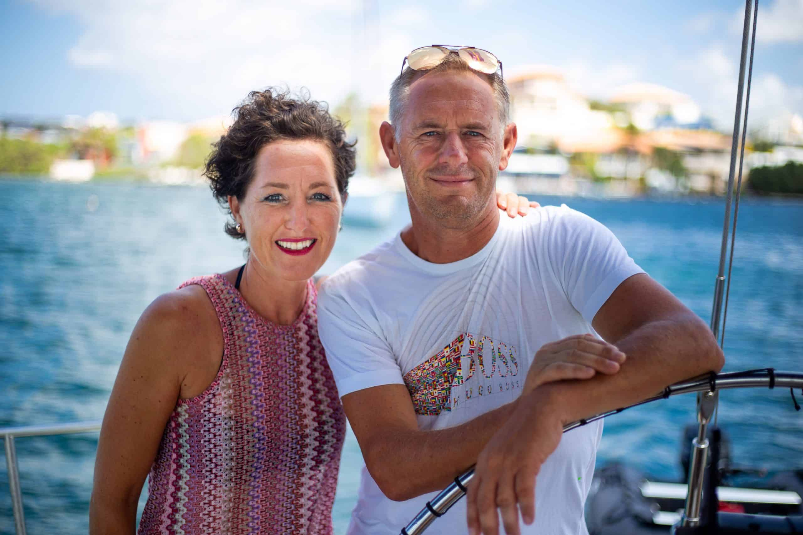 Maxie Sailing Curacao crew Galaxie skipper and owner private charter curacao