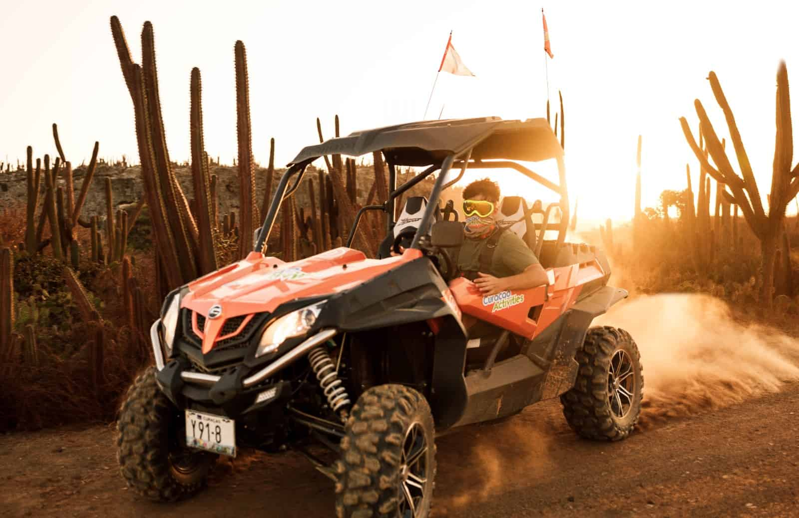 UTV Expeditions in Curacao 1