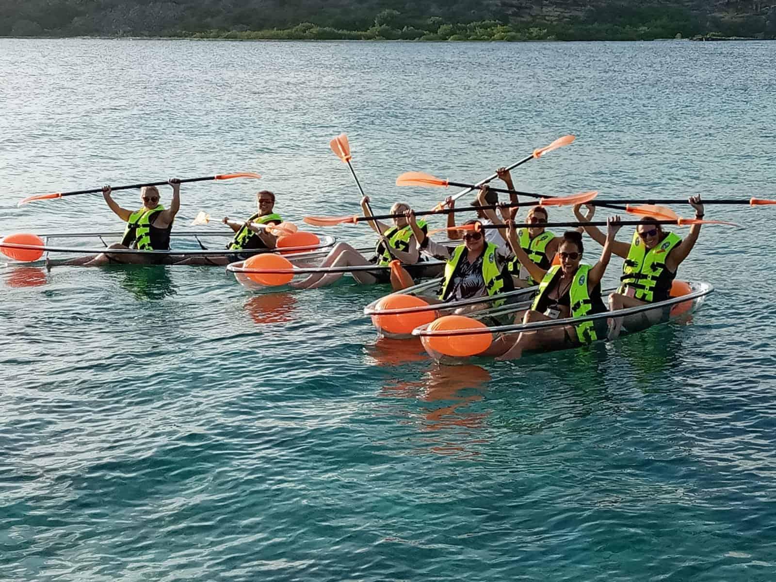 Clear Canoe at Caracasbaai 5